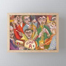 All That Jazz  - New Orleans Jazz Band Framed Mini Art Print