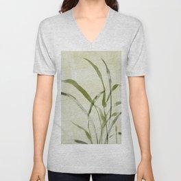 beach weeds Unisex V-Neck