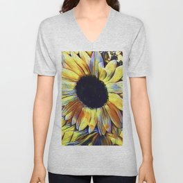 Sunflower After The Storm Unisex V-Neck