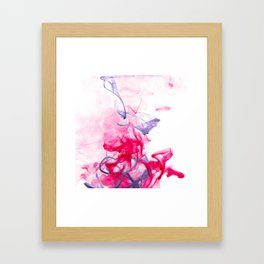 Blue Threads Framed Art Print