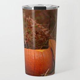 A Chickadee Thanksgiving Travel Mug