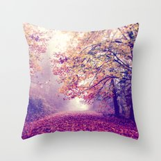oh darling, lets be adventurous Throw Pillow
