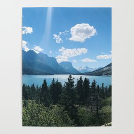 Canadian Blue Poster