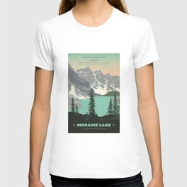 Moraine Lake Poster T-shirt