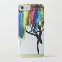 ballet iPhone & iPod Cases featuring Ballet by LexaLA