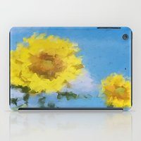 sunflowers iPad Cases featuring Sunflowers by Paul Kimble