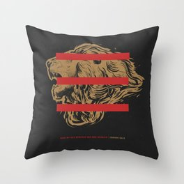 RedLetrs By His Stripes Throw Pillow