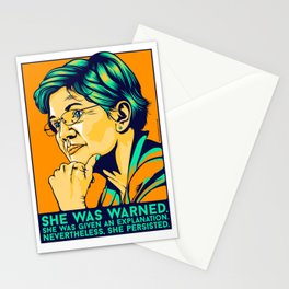 She Persisted (Full) Stationery Cards