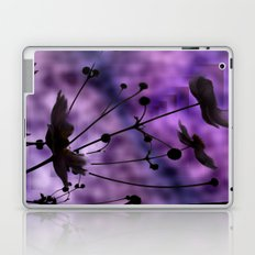 purple shadow Laptop & iPad Skin