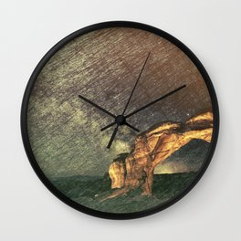 Once Again There was the Desert Wall Clock