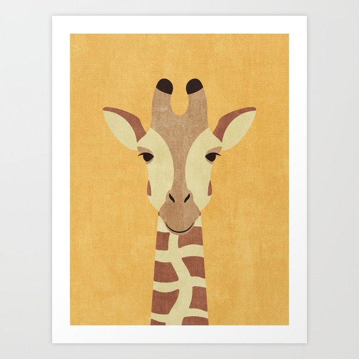FAUNA / Giraffe Art Print