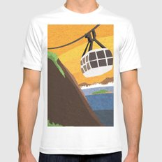 There's something about Rio Mens Fitted Tee White MEDIUM