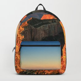 Grand Canyon Park USA Nature Canyon mountain Parks Evening canyons Mountains park Backpack