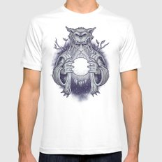 Fortune Teller Mens Fitted Tee White MEDIUM