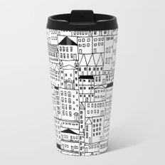cityscape Travel Mug