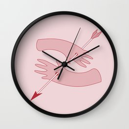 Double the hands Wall Clock