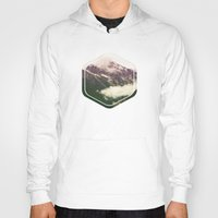 the mountains are calling Hoodies featuring The Mountains Are Calling by Noonday Design