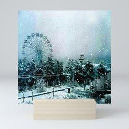 Cold Forest Playground Mini Art Print