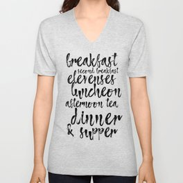Second Breakfast Unisex V-Neck