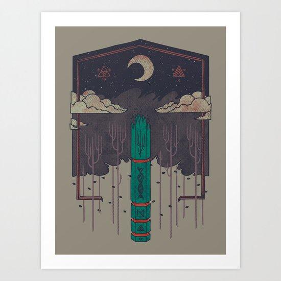 The Lost Obelisk Art Print