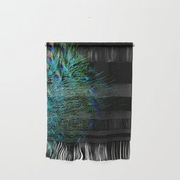 Peacock Details Wall Hanging