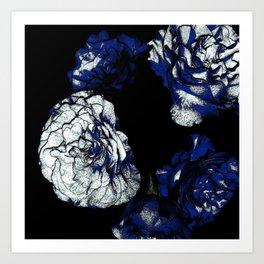 Alien Camellias Art Print