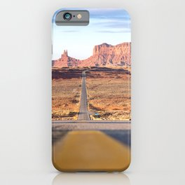 Monument Valley Navajo Valley Tribal Park iPhone Case