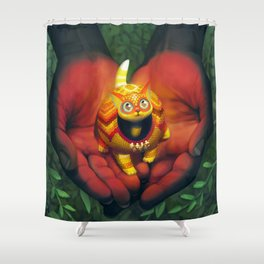 Alebrije Shower Curtain