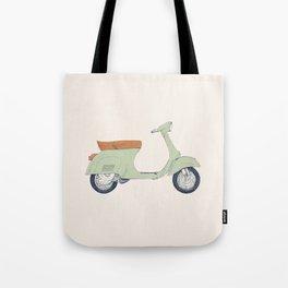 Italian Moto Tote Bag