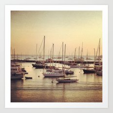Sleeping Sea Art Print