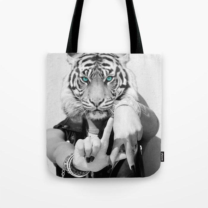 TIGER GIRL Tote Bag