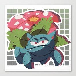 #003Venusaur. Canvas Print
