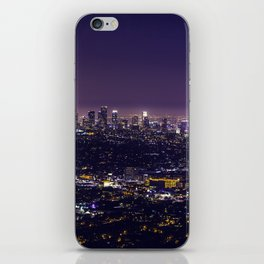 Los Angeles at Night iPhone Skin