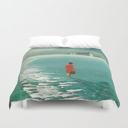 Waiting For The Cities To Fade Out Duvet Cover
