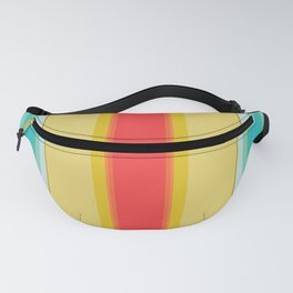 sandcastle deckchair stripe Fanny Pack