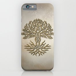 The celtic tree iPhone Case