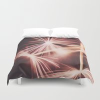 ruby Duvet Covers featuring ruby by Ingrid Beddoes