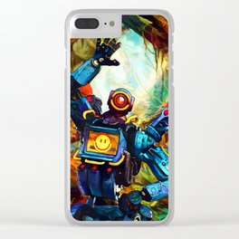 Colorful Scout Clear iPhone Case