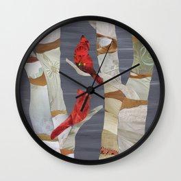 Birch please Wall Clock