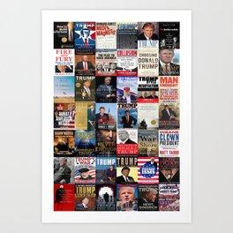 Donald Trump Books Art Print