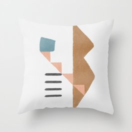 How I remember my house - abstract simplicity Throw Pillow