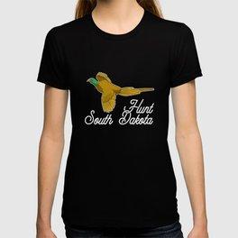 South Dakota Hunting Huntsman Ducks Shooting T-shirt