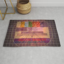 Creative Breakfast Rug