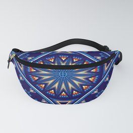 Blue Fire Keepers Fanny Pack