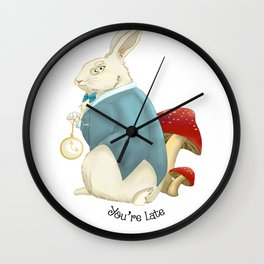 You're Late Wall Clock