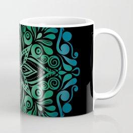 Mandala Green Blue gift Coffee Mug