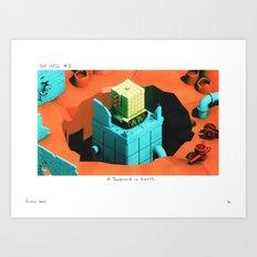 POP HELL #5 Art Print