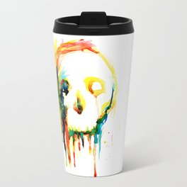 Happy/Grim Travel Mug