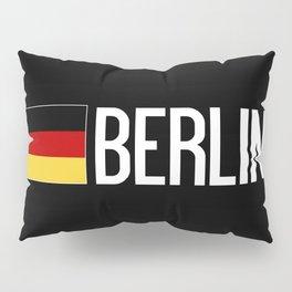 Germany: German Flag & Berlin Pillow Sham