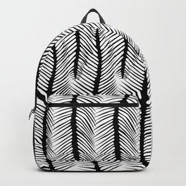 Herringbone Backpack